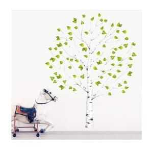 Znovu snímatelná samolepka Birch Tree, 150x100 cm