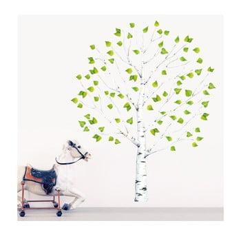 Autocolant refolosibil Birch Tree 150x100 cm