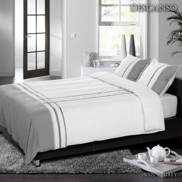 Povlečení Descanso Grey Dream, 200x200 cm