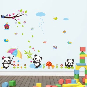 Samolepka Fanastick Babies Pandas