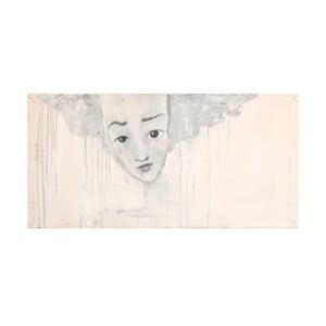 Autorský plakát od Lény Brauner Liška je lena, 30x55 cm