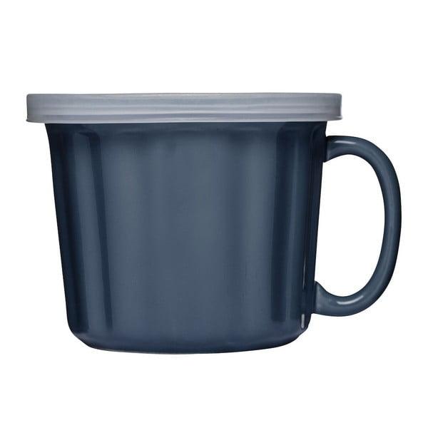 Modrý hrnek na polévku Sagaform, 500ml