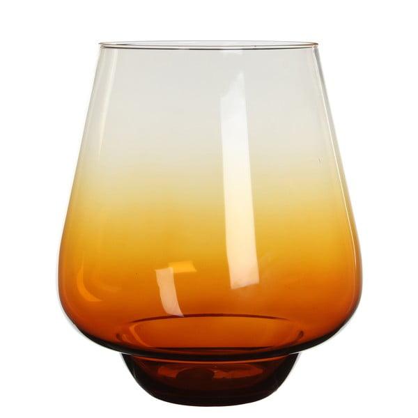 Stojan na svíčku/váza Nolan Ochre, 25 cm