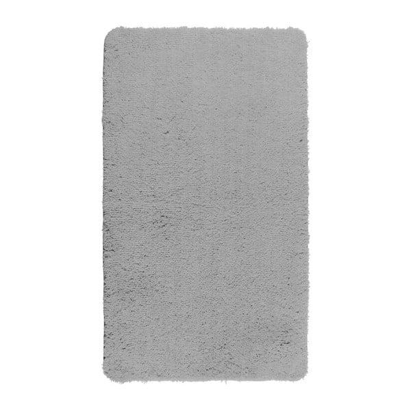 Světle šedá koupelnová předložka Wenko Belize, 90x60cm