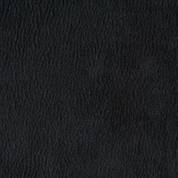 Trojmístná pohovka Miura Munich, černý semišový potah