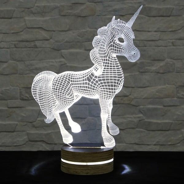 3D stolní lampa Unicorn