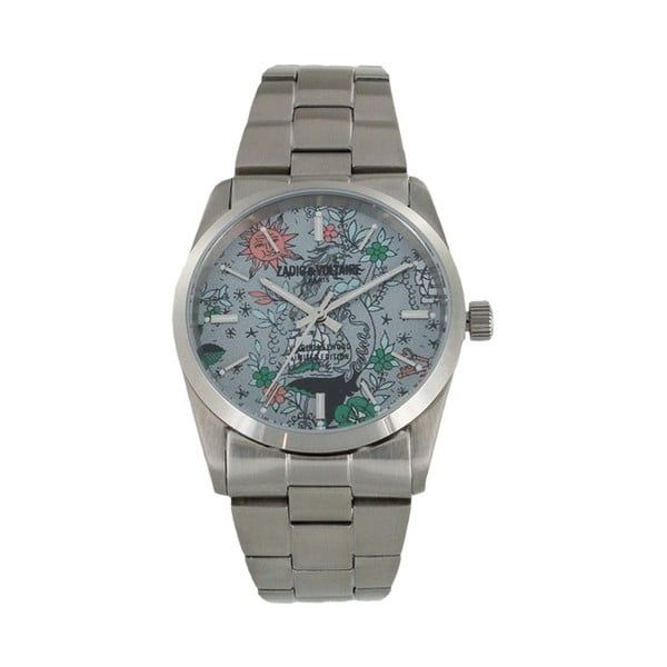 Unisex hodinky stříbrné barvy Zadig & Voltaire Spray