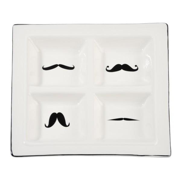 Servírovací miska Mustache, 24x24 cm