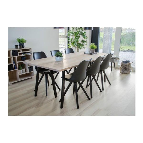 Šedobílá deka House Nordic Cort,170x130cm