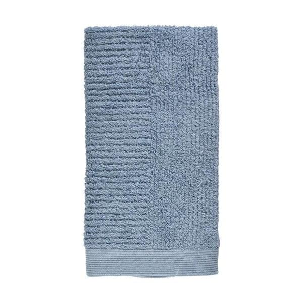Prosop din bumbac 100% Zone Classic Blue Fog, 50 x 100 cm, albastru