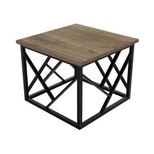 Hnědý konferenční stolek Woda
