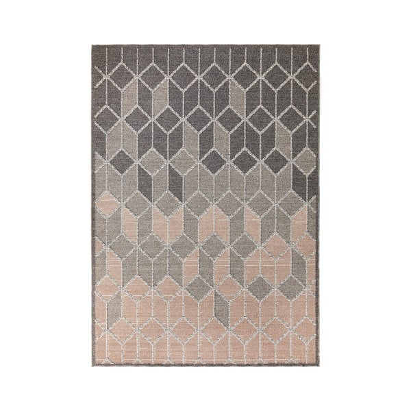 Covor Flair Rugs Dartmouth, 120 x 170 cm, gri - roz