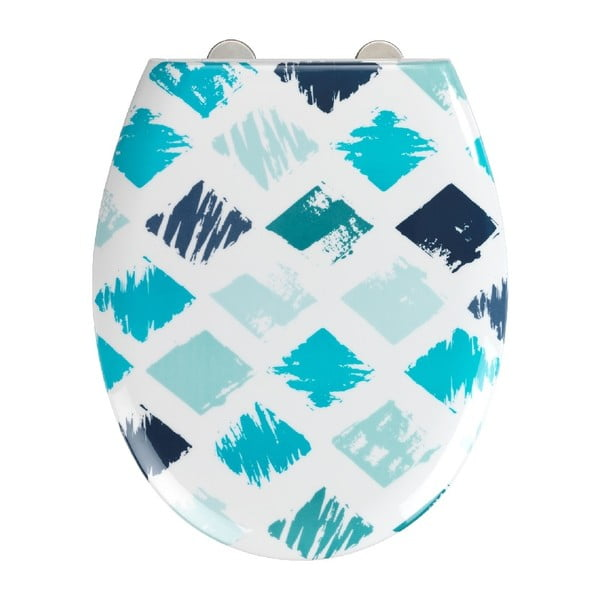 Easy Rhombus WC-ülőke, 44,5 x 37 cm - Wenko