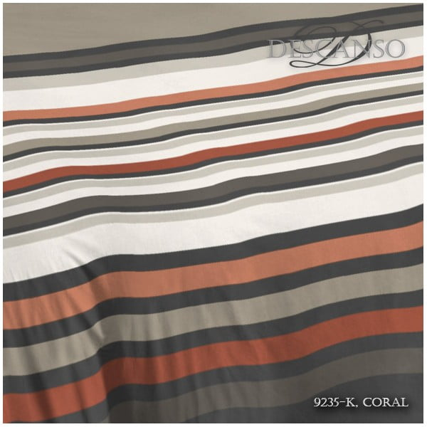 Povlečení Descanso Coral Linen, 240x200 cm