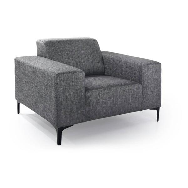 Diva antracitszürke fotel - Softnord