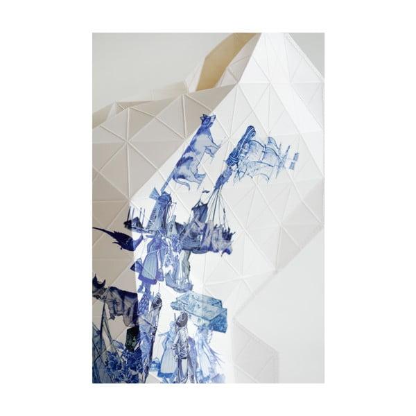 Papírová váza Delft Blue Icons
