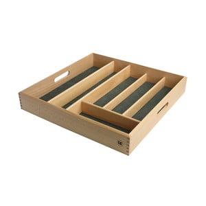 Suport din lemn pentru tacâmuri T&G Woodware, lungime 38 cm