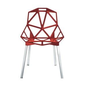 Červená židle Magis One