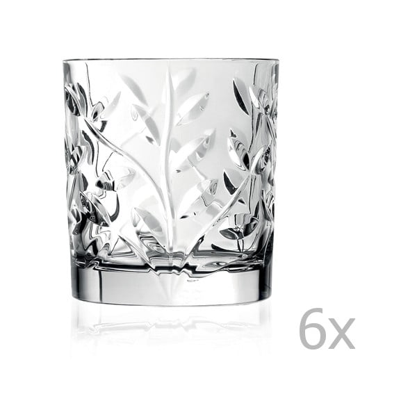 Sada 6 pohárov RCR Cristalleria Italiana Kaya, 330 ml