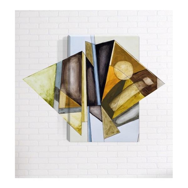Abstract 3D fali kép, 40 x 60 cm - Mosticx