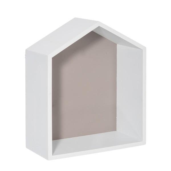 Nástěnná polička House Greige, 25x30 cm