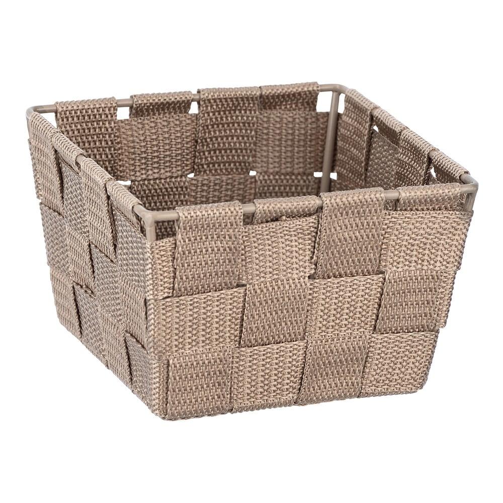 Produktové foto Béžový úložný box Wenko Adria, 14x14cm