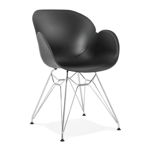 Čierna jedálenská stolička Kokoon Chipie