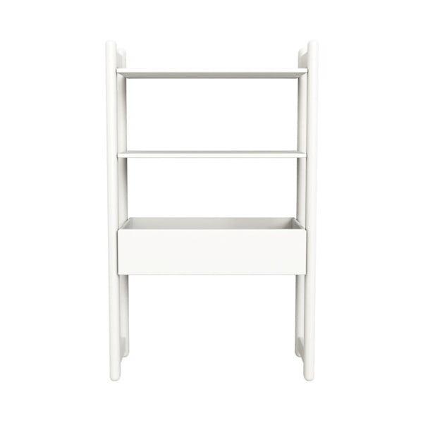 Biała szafka/organizer Flexa Shelfie, wys. 131.6 cm