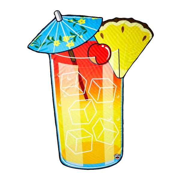 Pătură pentru plajă Big Mouth Inc. Tropical Drink, 152x152cm