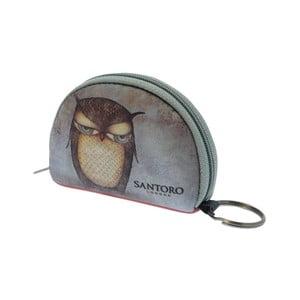Breloc Santoro London Grumpy Owl Mini