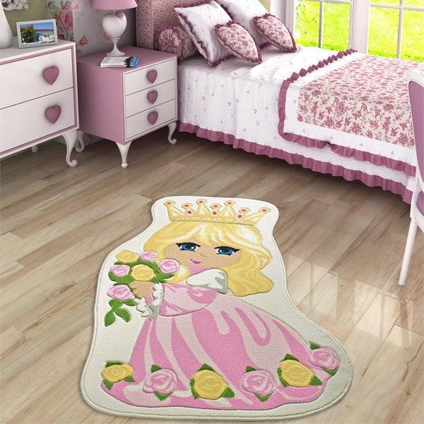 Dětský koberec Princess, 100x160 cm