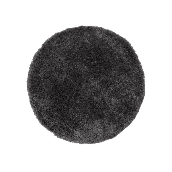 Covor Flair Rugs Sparks, ⌀ 133 cm, gri antracit