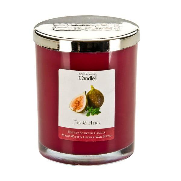 Aroma svíčka Fig&Herb, doba hoření 40 hodin
