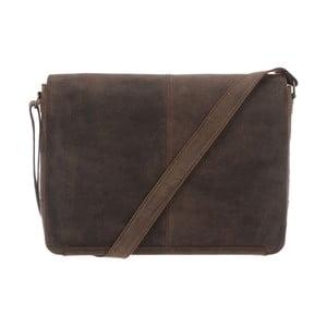 Kožená taška Croft Hunter Brown
