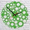 Nástěnné hodiny Green Bubble