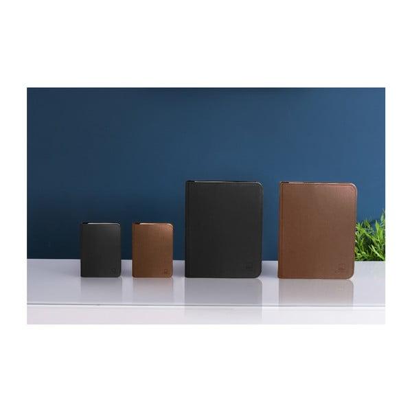 Veioză cu LED Gingko Large, formă de carte, negru