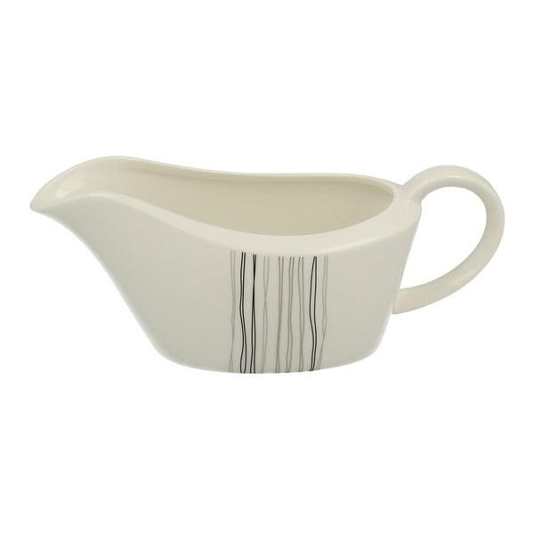 Porcelánový omáčkovník Duo Gift Silver Line, 350 ml