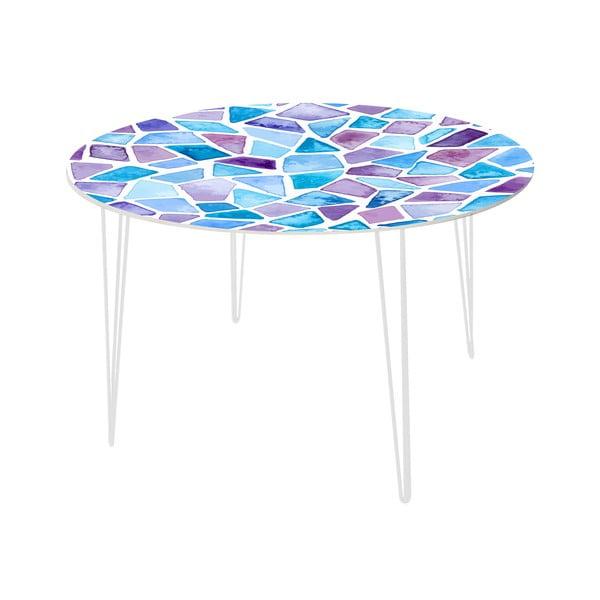Jídelní stůl Stone Mosaic, 120 cm