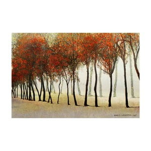 Obraz Marmont Hill Row of Trees, 45 x 30 cm