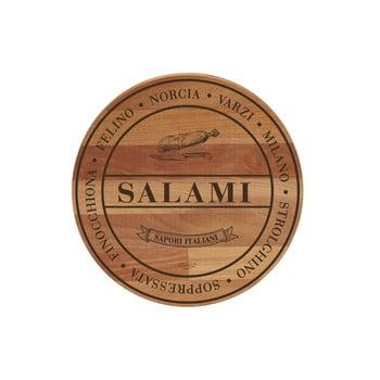 Tocător din lemn de fag Bisetti Broad Salami, ø 30 cm