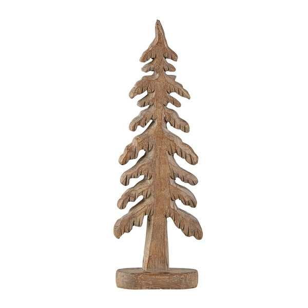 Statuetă decorativă KJ Collection Tree Turo, 24 cm, maro