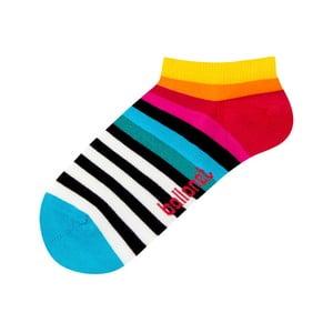 Kotníkové ponožky Rainbow, velikost 41–46