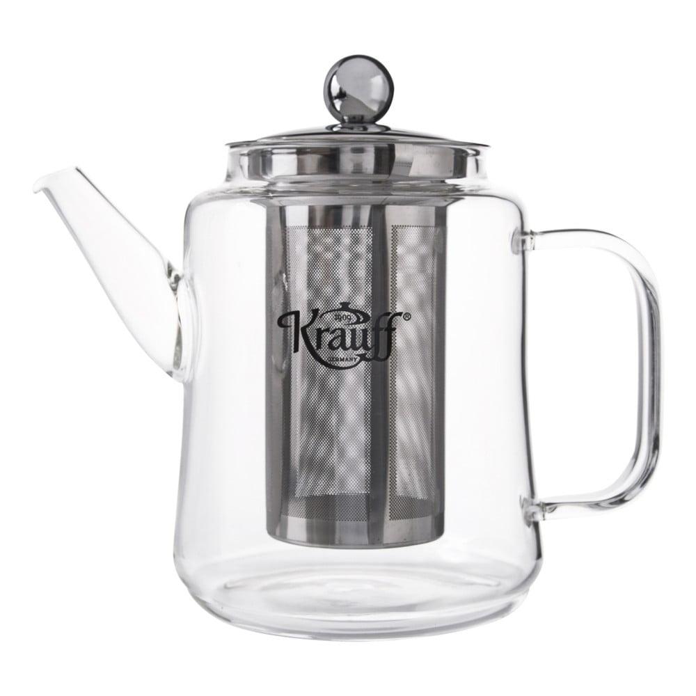 Skleněná čajová konvice Krauff, 1l