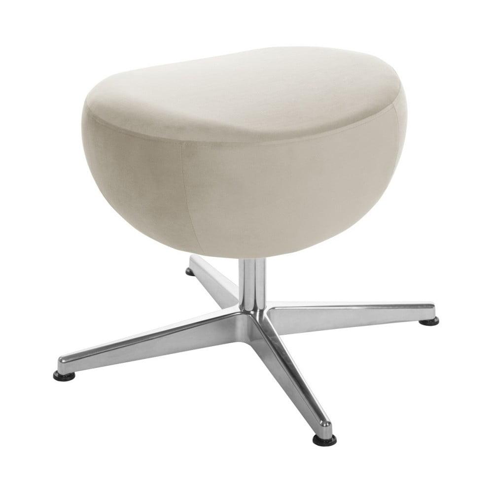 Krémová otočná stolička/podnožka My Pop Design Monory