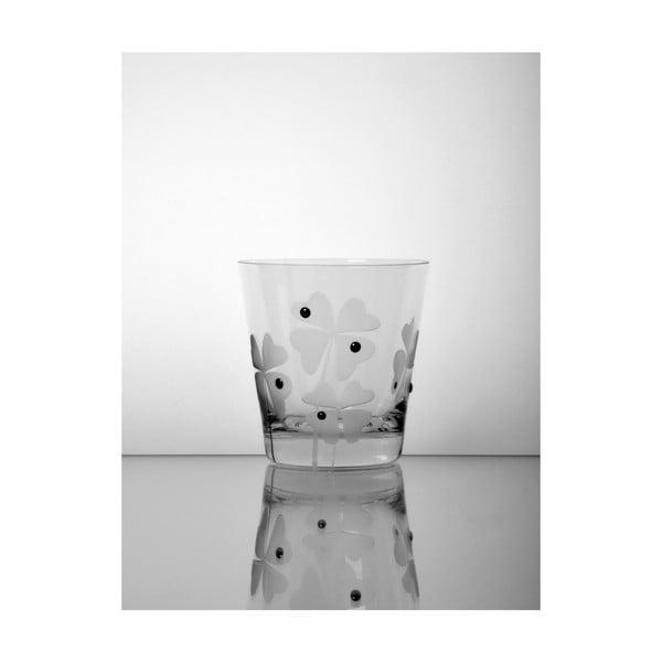 Sklenice Čtyřlístek, 330 ml, 2 ks