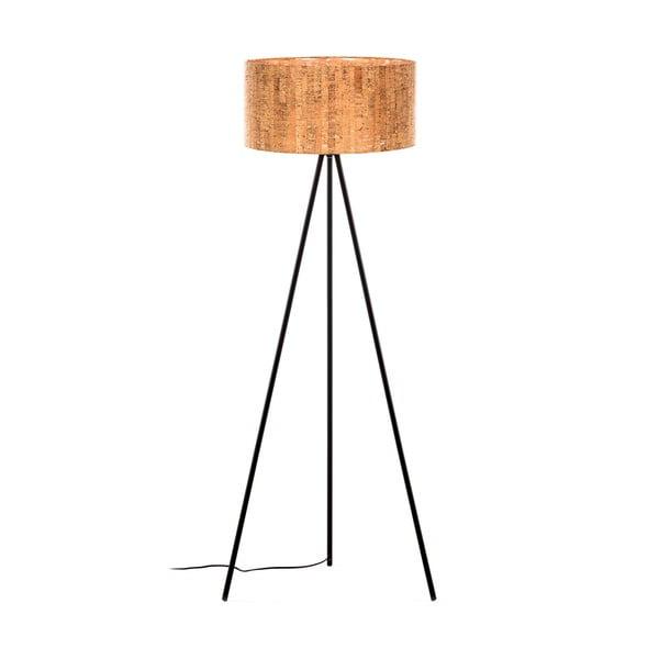 Hnědá stojací lampa La Forma, výška 146 cm