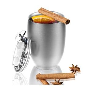 Nerezový termohrnek ve stříbrné barvě Asobu Imperial Beverage, 300 ml