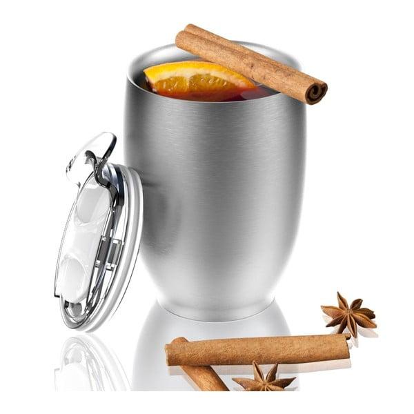 Strieborný termohrnček z antikoro ocele Imperial Beverage, 300 ml