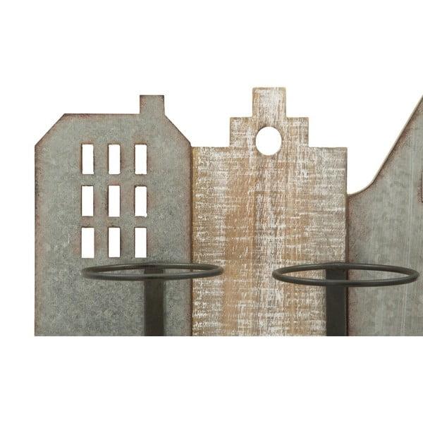 Nástěnná vinotéka s motivem města Mauro Ferretti