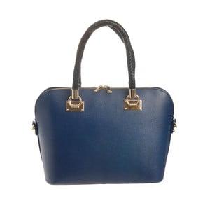 Geantă din piele Tina Panicucci Classa, albastru
